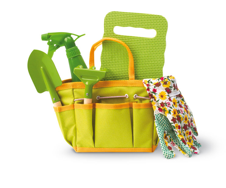 Garden toolkit with handbag