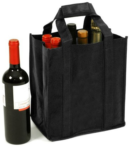 six wine carrier bag
